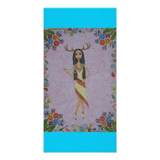 Deer Woman (Fairy Tale Fashion Series #5) Card