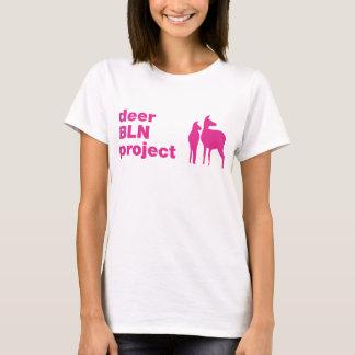 deerBLNproject ladies TEE magenta