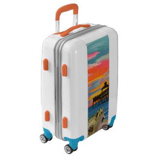 'Deerfield Beach Pier Pop!' on Luggage