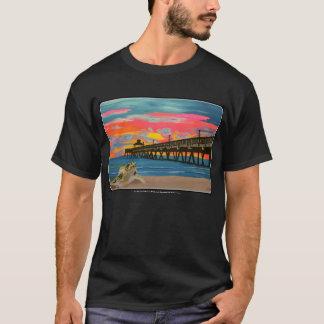 Deerfield Beach Pier Pop! painting on a Shirt
