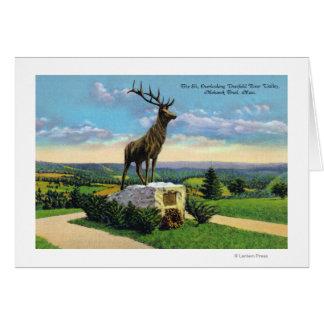Deerfield River Valley on Mohawk Trail Card