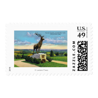 Deerfield River Valley on Mohawk Trail Stamp