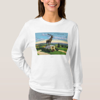 Deerfield River Valley on Mohawk Trail T-Shirt