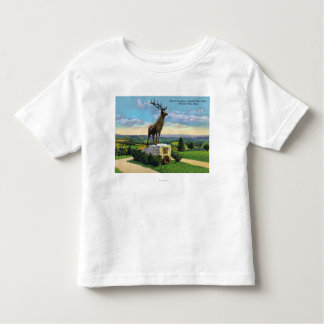 Deerfield River Valley on Mohawk Trail Toddler T-shirt