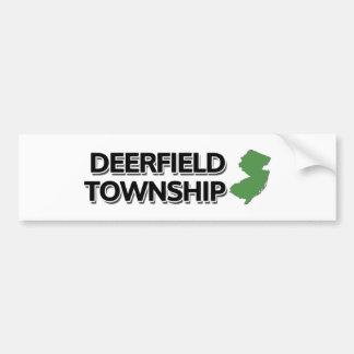 Deerfield Township, New Jersey Bumper Sticker
