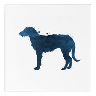 Deerhound Acrylic Print