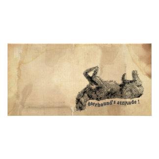 Deerhound attitude card