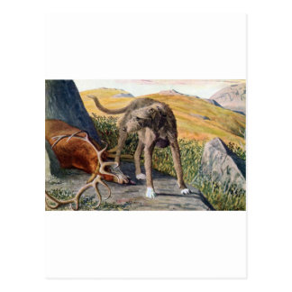 Deerhound escocés tarjeta postal