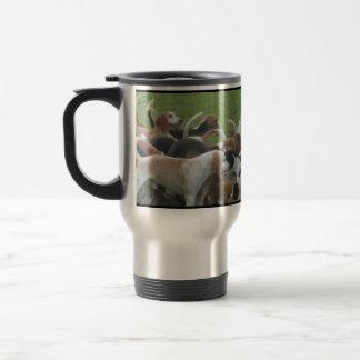 Deerhounds/Jagdhunde Taza De Viaje De Acero Inoxidable