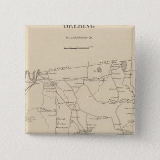 Deering, Hillsborough Co Pinback Button