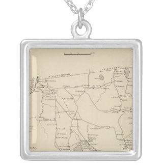 Deering, Hillsborough Co Silver Plated Necklace