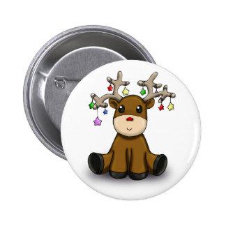 Deers 2 Inch Round Button