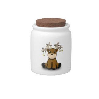 Deers Candy Jar