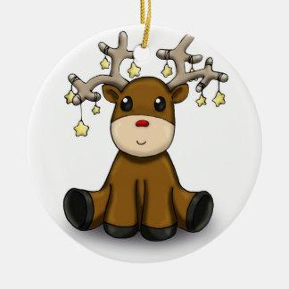 Deers Ceramic Ornament