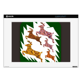 "Deers Decal For 15"" Laptop"