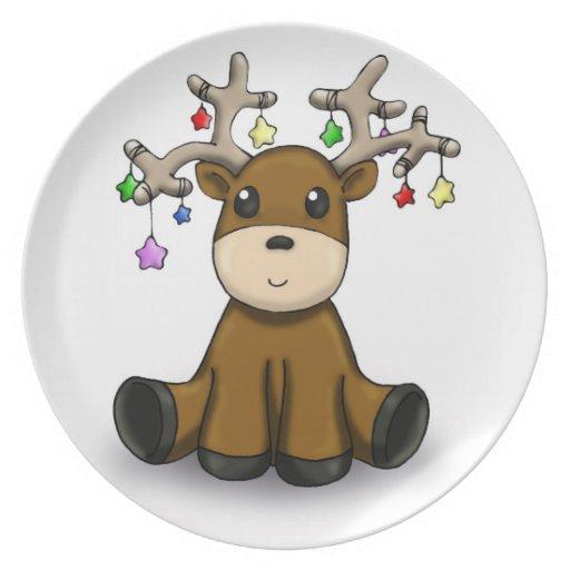 Deers Dinner Plate