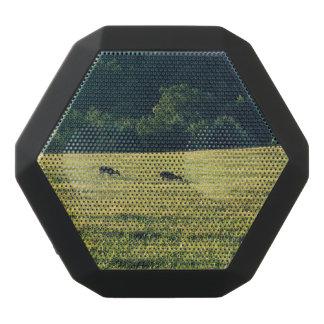 Deers Grazing Black Bluetooth Speaker