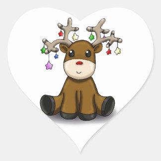 Deers Heart Sticker
