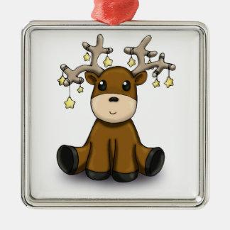 Deers Metal Ornament