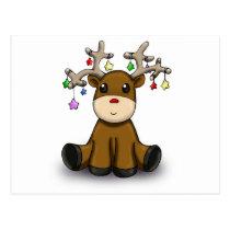 Deers Postcard