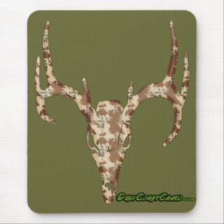 DeerSkull in Digital Brown for Hunters Mouse Pad
