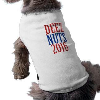 DEEZ NUTS 2016 deeznuts Dog Tee Shirt