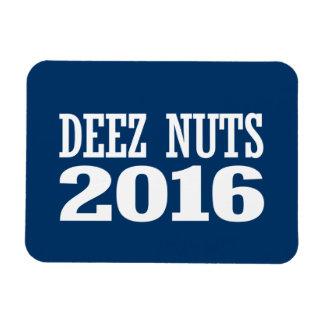 Deez Nuts 2016 Rectangular Photo Magnet