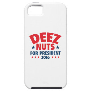Deez Nuts For President iPhone SE/5/5s Case