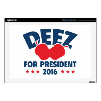 Deez Nuts For President Laptop Decal