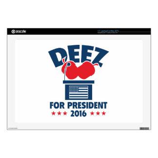 Deez Nuts For President Laptop Skin