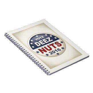 Deez Nuts II Notebook