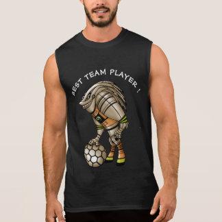 DEEZER ROBOT ALIEN MONSTERMen's Ultra Cotton Slee3 Sleeveless Shirt