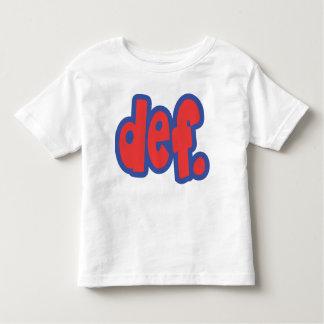 def. t shirt
