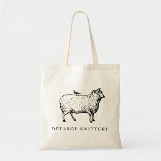 Defarge Knittery Mini Tote Budget Tote Bag