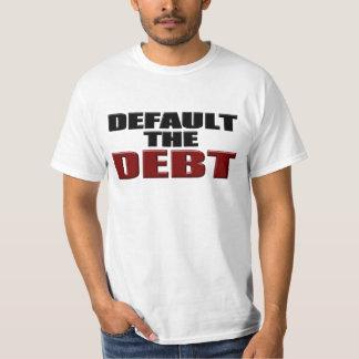 Default the Debt Shirt