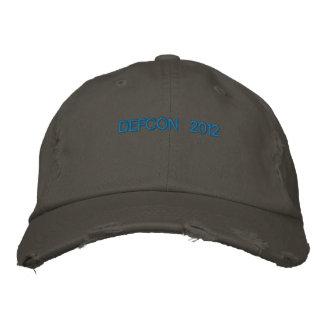 DEFCON 2012 EMBROIDERED BASEBALL CAP