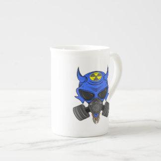 DefCon 6 (azul) Taza De Porcelana