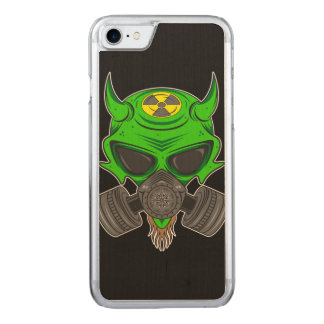 DefCon 6 (green) Carved iPhone 8/7 Case