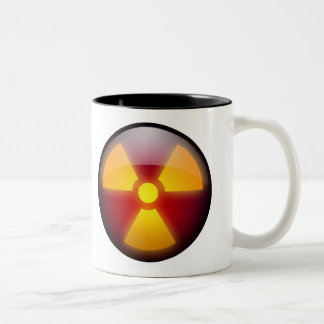 DEFCON - on your coffee Two-Tone Coffee Mug