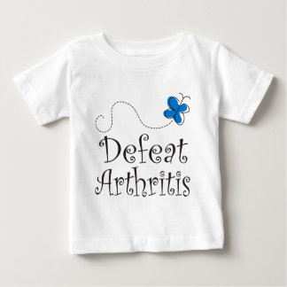 Defeat Arthritis Blue Ribbon Baby T-Shirt