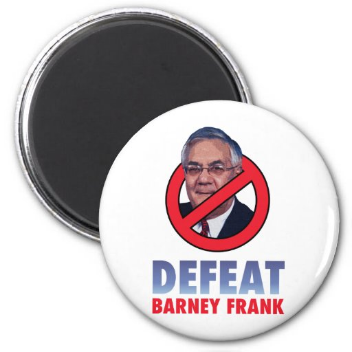Defeat Barney Frank 2 Inch Round Magnet
