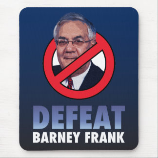 Defeat Barney Frank Mouse Pad