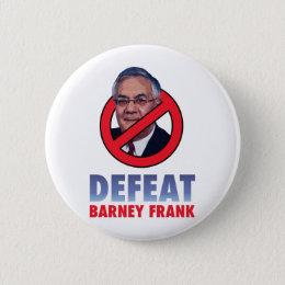 Defeat Barney Frank Pinback Button