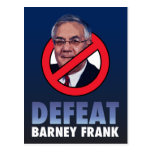 Defeat Barney Frank Post Cards