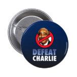 Defeat Charlie Rangel 2 Inch Round Button