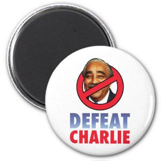 Defeat Charlie Rangel Magnet