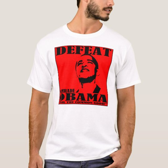 Defeat Comrade Obama T-shirt