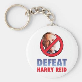 Defeat Harry Reid Basic Round Button Keychain