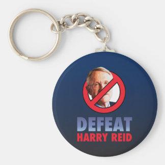 Defeat Harry Reid Keychain