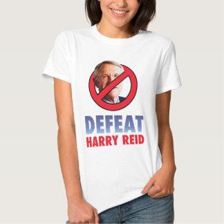 Defeat Harry Reid Tee Shirts